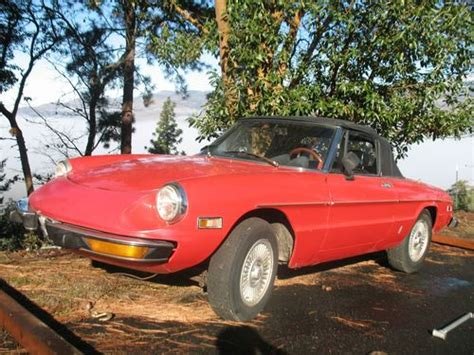 Alfa Romeo Restoration Parts by Purchase Used 74 Alfa Romeo Spider Convertible 5 Speed