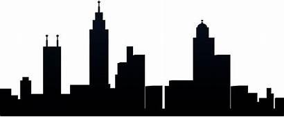 Silhouette Skyline Clipart Clip Nashville Transparent York