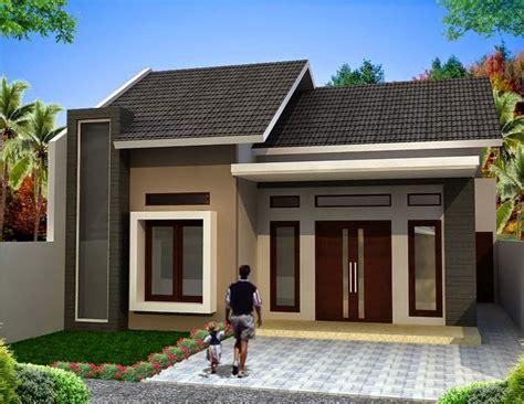 gambar rumah sederhana  denah  meter