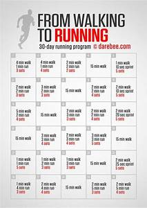 From Walking To Running  30 Day Running Challenge