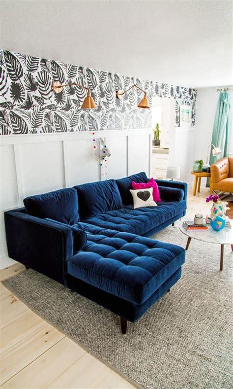 trendy velvet sofas   refined touch shelterness