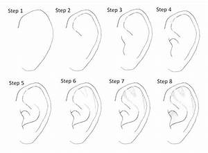 62 best Drawing   Ears images on Pinterest   Drawing ideas ...