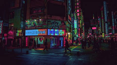 photographer  lost   beauty  tokyos neon