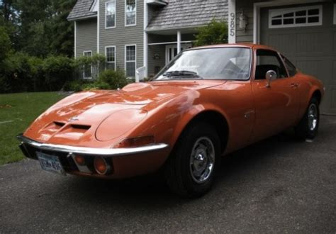 1970 Opel Gt For Sale by 1970 Opel Gt Bring A Trailer