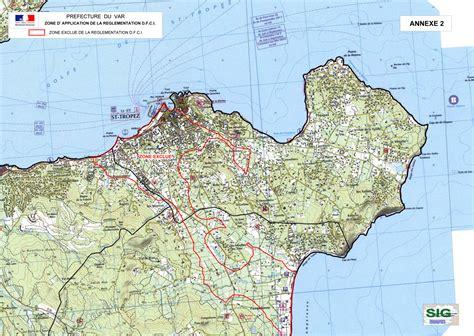 Carte Tropez by Environnement Site Officiel De La Ville De Tropez