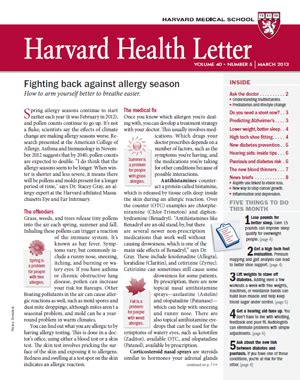 harvard health letter longer allergy seasons more anti allergy efforts 22099 | Health0313