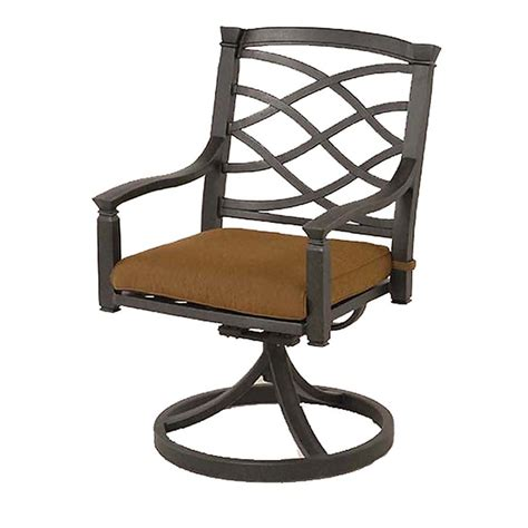 Swivel dining chairs small swivel chair farmhouse table chairs outdoor tables and chairs rustic chair rustic furniture industrial furniture adirondack rocking chair rocking chair plans. Garden Treasures Set of 2 Black Canyon Aluminum Swivel ...