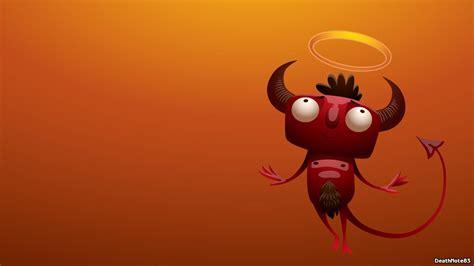 funny devil vector art wallpaper
