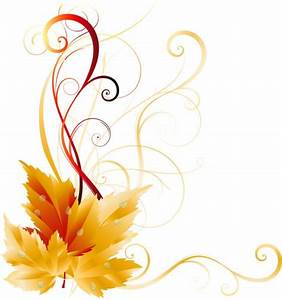 Transparent Fall Leaves Decor Picture   Fall clip art ...