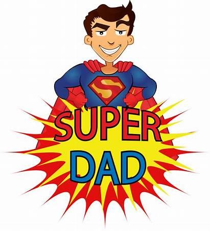Dad Super Cartoon Father Superdad Cartton Animated