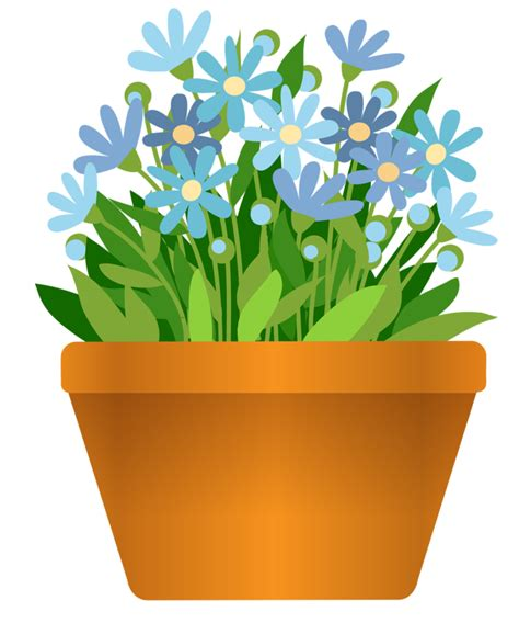 Flower Pot Clipart Flower Pot 7 Png 176 My Garden Valley 176