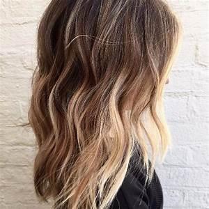 Caramel Balayage On Medium Brown Hair