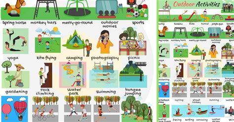 outdoor activities list  outdoor activities