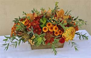 Happy, Thanksgiving, Centerpieces, By, Flower, Duet
