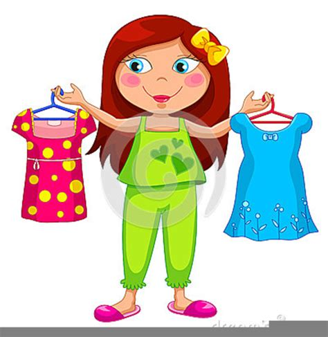 get clipart getting dressed for school clipart free images at clker