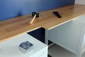 Farbe Für Arbeitsplatte : schreibtisch selber bauen 106 originelle vorschl ge ~ Markanthonyermac.com Haus und Dekorationen
