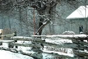 Country Snow Scenes