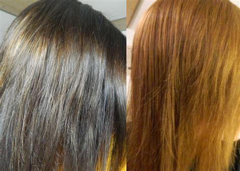 Haare aufhellen mit zitrone vorher nachher