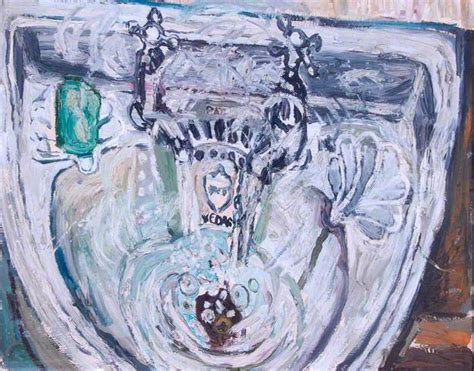 bratby kitchen sink basin with green soap bratby wikiart org 4904