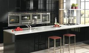 Cuisine Équipée Noir : cuisine ixina le catalogue 25 photos ~ Melissatoandfro.com Idées de Décoration