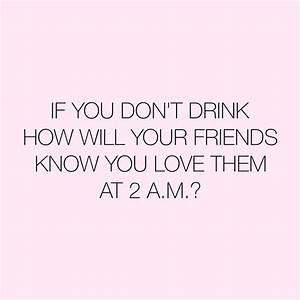 Some Funny Quot... Friendship Drunk Quotes