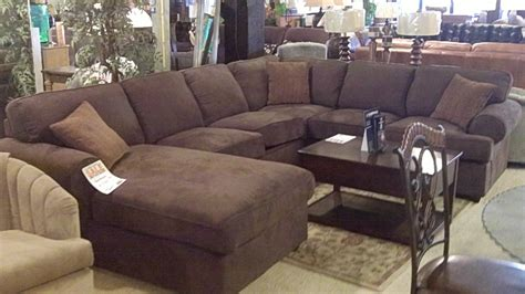 Round Sectional Sofa Leather Extra Deep Sectional