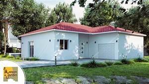 maison et jardin constructeur de maison en auvergne With exemple de jardin de maison