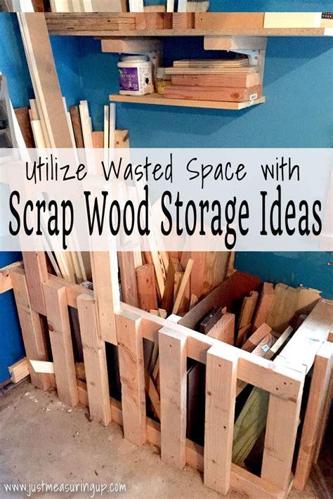 pg scrap wood storage  measuring