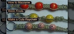 How To Basic : how to tie basic macrame knots to make a key chain or bracelet knitting crochet wonderhowto ~ Buech-reservation.com Haus und Dekorationen