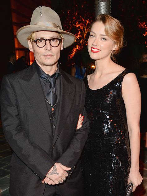 Johnny Depp Engaged to Amber Heard - Couples, Engagements ...