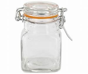 Bocaux En Verre Pas Cher : lot 4 bocaux pot en verre herm tique anneau en silicone ~ Melissatoandfro.com Idées de Décoration