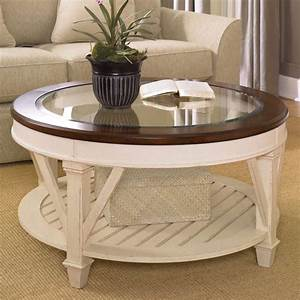 round coffee table antique white buetheorg With antique white round coffee table