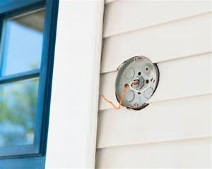 Install An Exterior Lighting Fixture