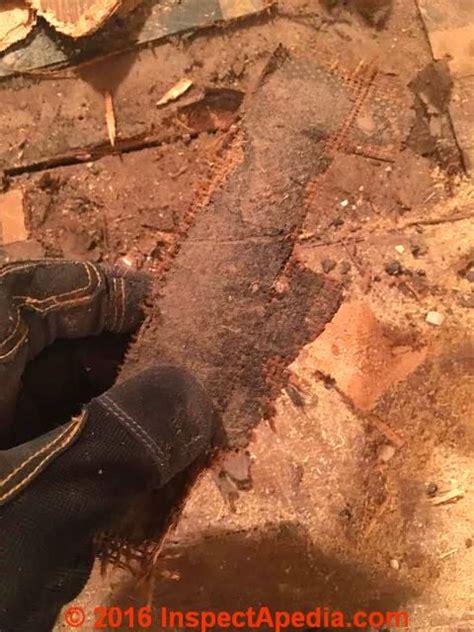 asbestos floor tile dimensions