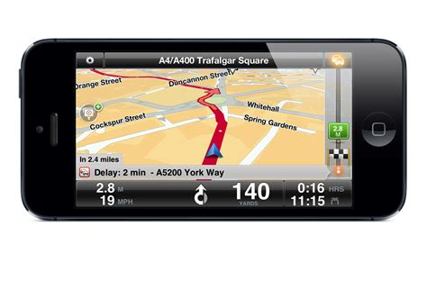 gps on iphone tomtom releases new navigation app for iphone5 autoevolution