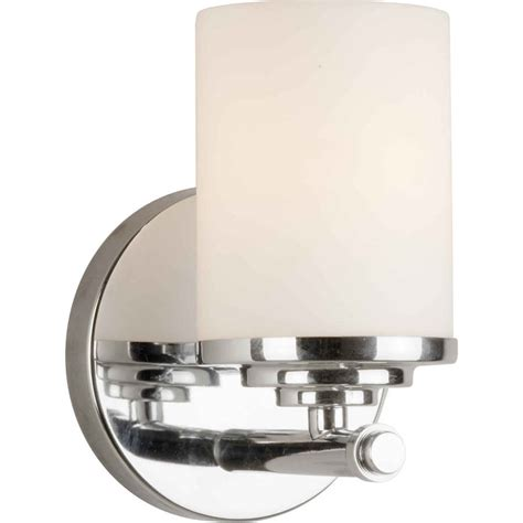 shop 1 light 7 in chrome vanity light at lowes