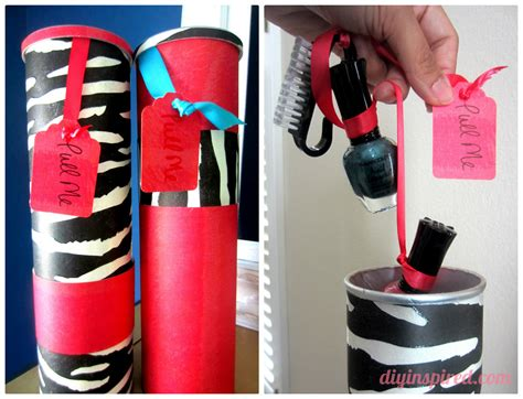 Diy Artwork Ideas by Recycled Pringles Can Gift Kits Diy Inspired