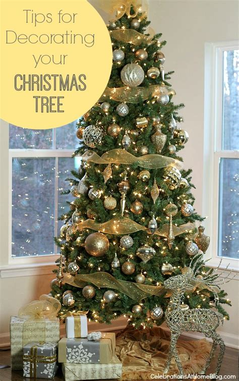 tips  decorating  christmas tree