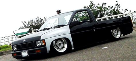 stanced nissan hardbody stanced hardbody jdmeuro com jdm wheels and trends archive