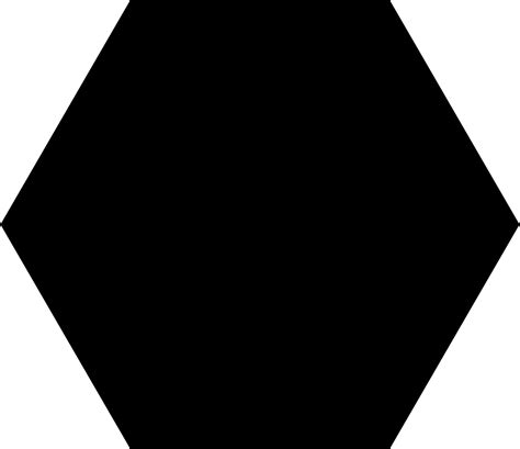 black hexagon original file svg file nominally 726 215 628 pixels file size 326 b