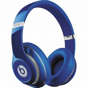 Beats by Dr. Dre Studio Wireless Headphones (Blue) MHA92AM ...