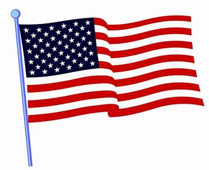 Flag Clip American Background Cliparts Clipart Flags