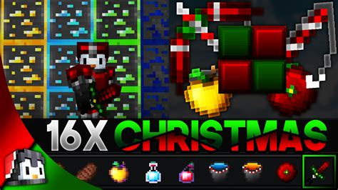 Christmas 16x Mcpe Pvp Texture Pack Gamertise