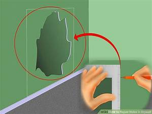 Großes Loch In Der Wand Reparieren : 5 ways to repair holes in drywall wikihow ~ Frokenaadalensverden.com Haus und Dekorationen