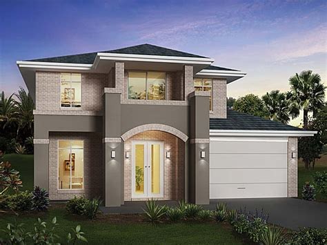 contemporary house plan two house design modern design home modern house