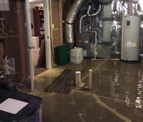 flooded basement cleanup rock environmental