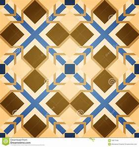 Brown Mosaic Square Seamless Pattern Royalty Free Stock ...