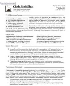 vice president of technology operations premium resume