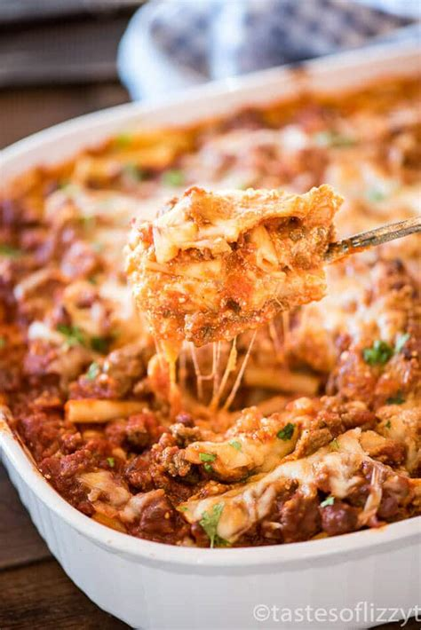 baked ziti with baked ziti with ground beef