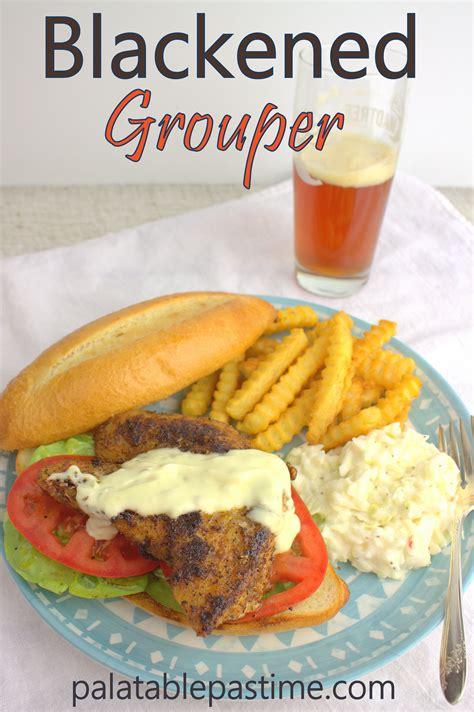 grouper blackened sandwich fishfridayfoodies